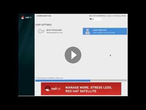 RHEL 7 Installation - In Virtual Box - Installing Red Hat Enterprise