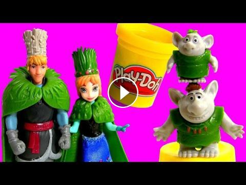 FROZEN Wedding Princess Anna & Kristoff - Disney Troll