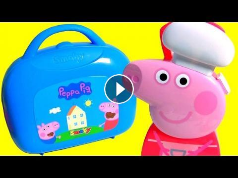 Chef Peppa Pig Cooking With Peppa Pig Mini Kitchen Case