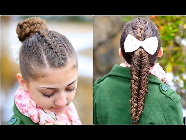 Fishtail Hack | Mermaid Braid Hack | Cute Girls Hairstyles