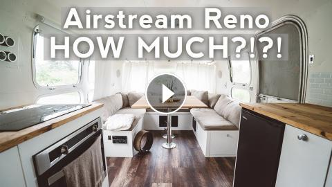 airstream renovation how much did it cost. Black Bedroom Furniture Sets. Home Design Ideas