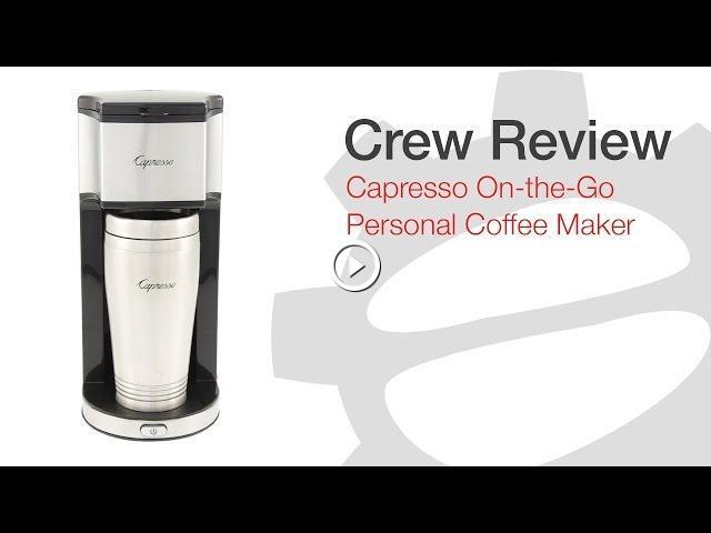 Crew Review Capresso On The Go