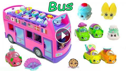 The Tour Bus Is Loading Up With New Season 8 World Vacation Europe And Asia Shopkins Hop On GiftEms Check Out Surpris