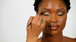 How to Apply Eye Shadow to Eye Creases | Black Women Makeup