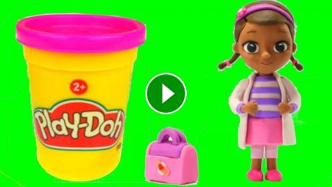 Mcstuffins Juguetes Animations Doc Play Motion Doh Cartoons Dra Stop DHW29IEY