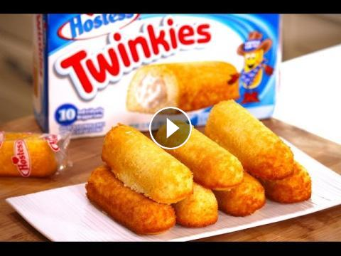 How to make Twinkies   Nicko\'s Kitchen
