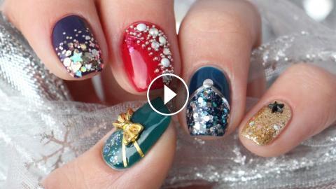 5 new years eve nail art design ideas - Nail Art Designs Ideas