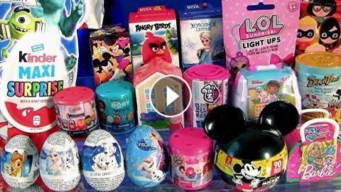 30 Surprise Toys Eggs Peppa Pig S House Barbie Lol