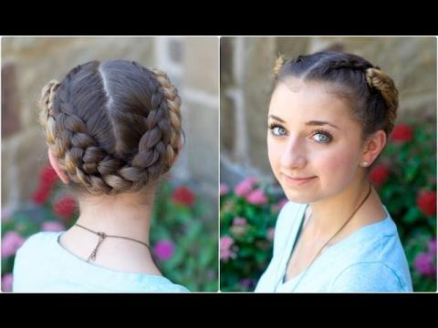 Fold-Up Braids | Back-to-School Hairstyles