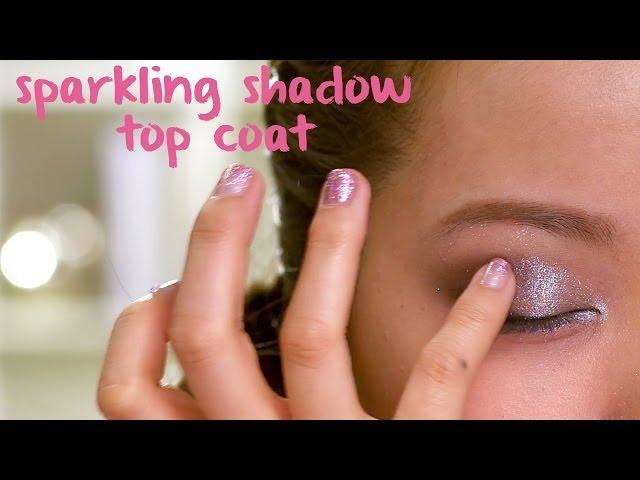 color facets sparkling shadow top coats : em michelle phan
