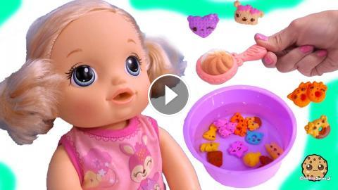 Feeding Baby Alive Num Noms Magic Cereal Surprise Blind