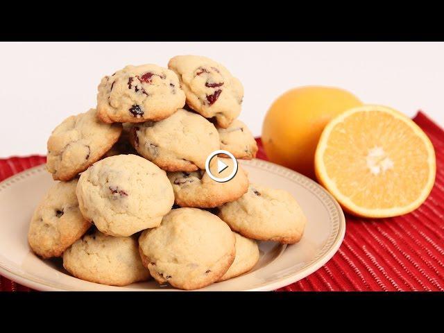 Cranberry orange cookies recipe laura vitale laura in the cranberry orange cookies recipe laura vitale laura in the kitchen episode 859 forumfinder Images