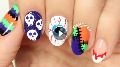 5 Fun Halloween Nail Art Ideas 2