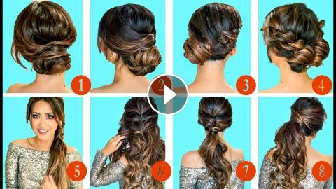 Top 10 Greatest Holiday Hairstyles Updos 2017 With