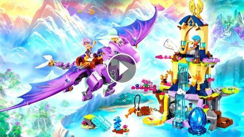 Funtoys LEGO ELVES The Dragon Sanctuary 41178 Kit Building Toys with ...