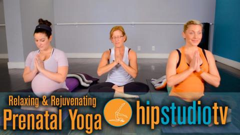 Prenatal Yoga Fitness Routine with Marla: HIP Studio