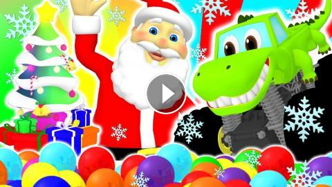 this kids christmas compilation is stuffed like a stocking with xmas carols colors songs shapes learning videos busy beavers super circus 3