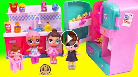 Lol Surprise Baby Dolls Find Grossery Gang Blind Bag Toys