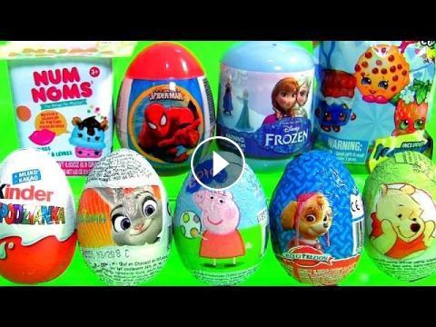 Toys Surprises Kinder Zootopia Paw Patrol Pooh Shopkins