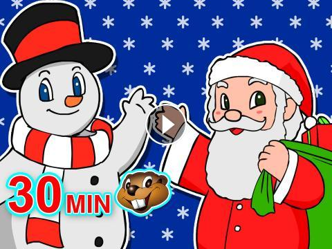 beavers love christmas 30 minute collection catchy songs colorful videos for babies toddlers