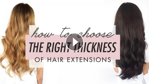 How to choose the right thickness of luxy hair extensions pmusecretfo Choice Image