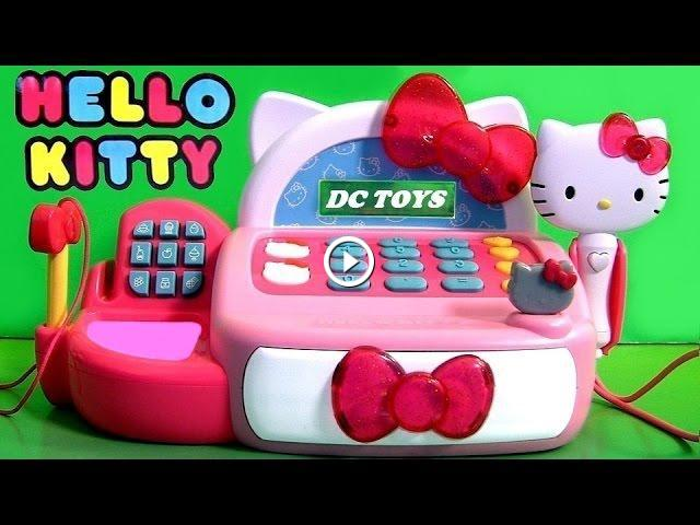 Hello Kitty Toys At Target : Hello kitty cash register vs disney minnie mouse