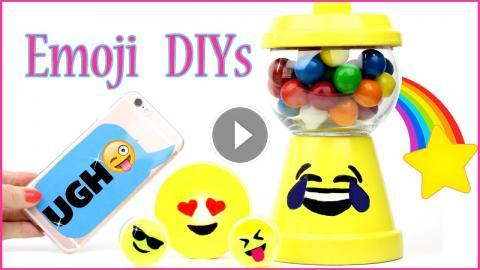 5 Diy Emoji Projects You Need To Try Phone Case Mini Slime Stress