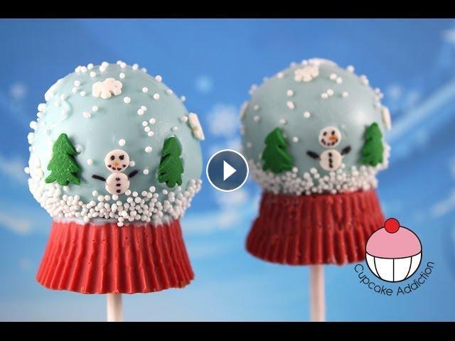 How To Make Globe Cake Pops
