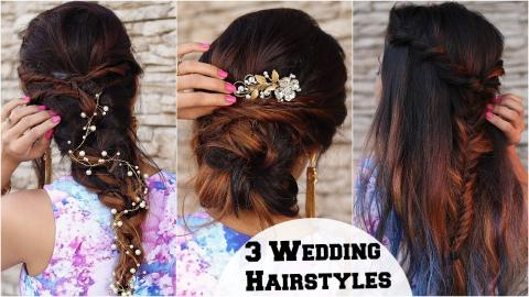 3 Elegant Wedding Cocktail Party Hairstyles Hairstyles For